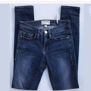 Frame Denim Le Skinny Jeans 25 Inseam 29''